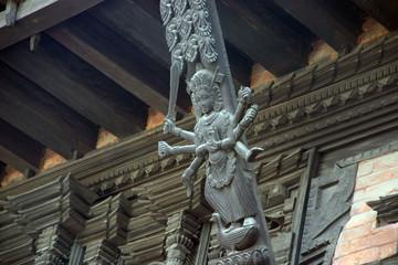 katmandu wooden temple