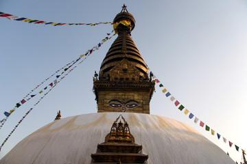 swayambhunath stupa in katmandu
