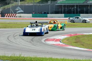 Deurstickers Snelle auto s racing cars