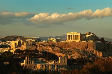 Poster Athens acropolis athens