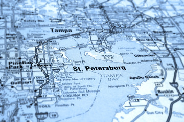 map of st petersburg