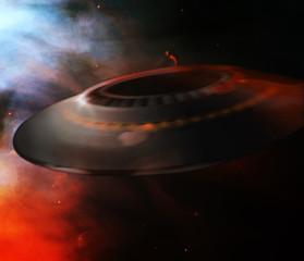 Foto auf Acrylglas UFO ufo