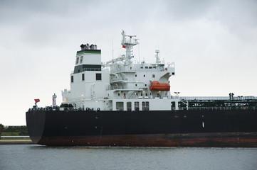 oil tanker tower mast