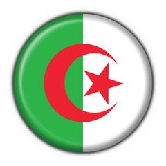 Wall Murals Algeria bottone bandiera algeria button flag
