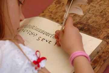 enfant et écriture