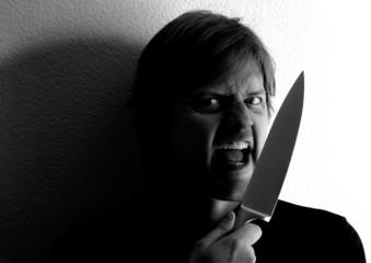 knife wielding