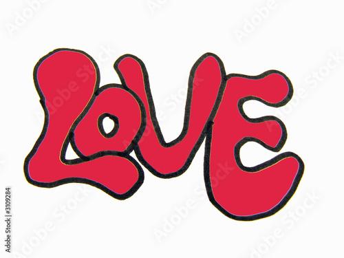love graffiti stockfotos und lizenzfreie bilder auf bild 3109284. Black Bedroom Furniture Sets. Home Design Ideas