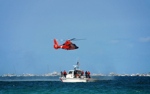 coast guard rescue operation