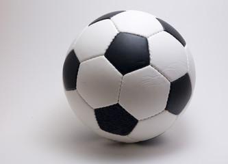 soccer ball on a white backround
