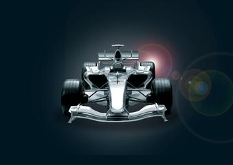 Deurstickers Snelle auto s formula one car