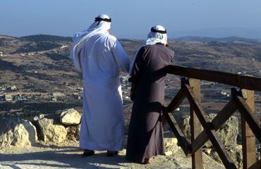 dans les montagnes de jordanie