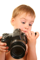 baby with camera 3