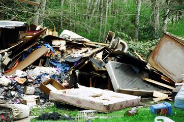 garbage dumping