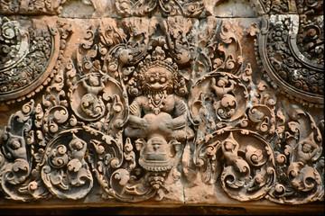 angkor wat sculpture - cambodia