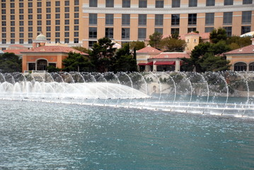 fountains and buildiing