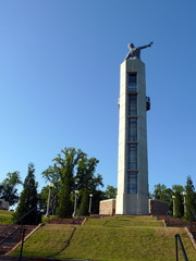 monument and blue sky