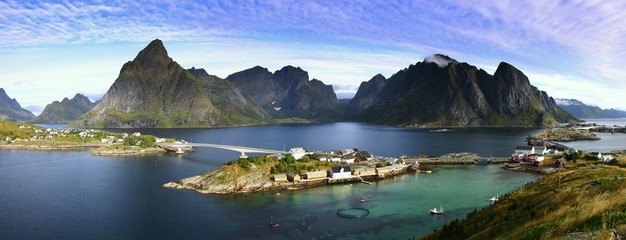 Photo sur Plexiglas Scandinavie inselwelt lofoten