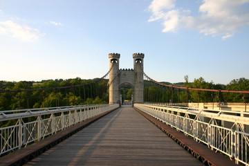 pont suspendu haute savoie