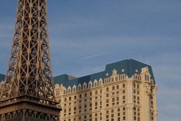 hotel and eiffel tower