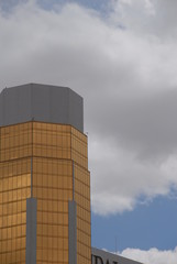 gold glass building