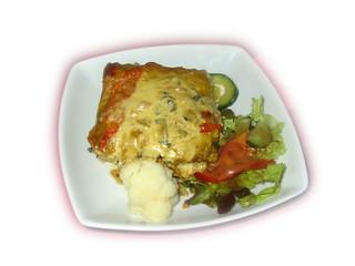 lasagne aux petits légumes