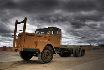 old and weathered truck