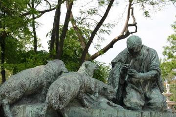 pied pipper statue