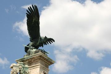 ornate budapest eagle