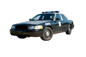 sheriff car front angle