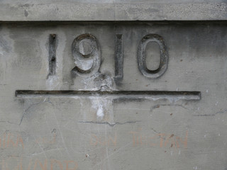 niveau de la crue de 1910