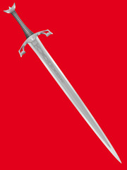 ancient knightly sword