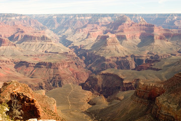 grand canyon red pastel