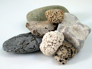 eroded pebbles