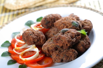 mince cutlets