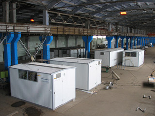 manufacture of block boiler-houses