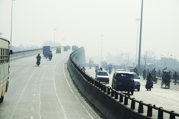 road in delhi city