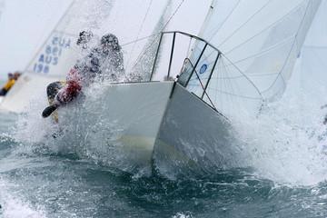 Foto op Plexiglas Zeilen sailing through 01