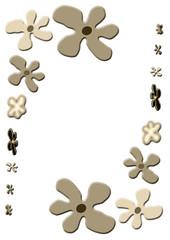 fleurs stickers