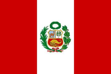 Papiers peints Amérique du Sud drapeau perou