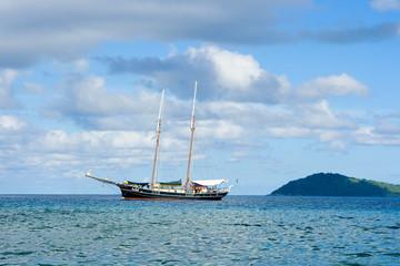 sailer at seychelles