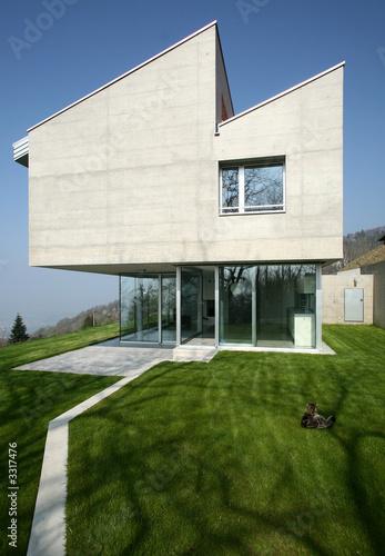 De Haute Qualite Maison Moderne En Suisse En Béton