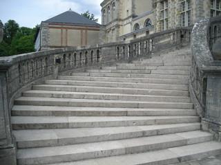 the walk ways chateau de fontainebleau