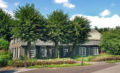 traditional farm villa