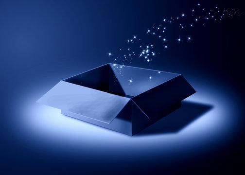 magic box in the moonlight
