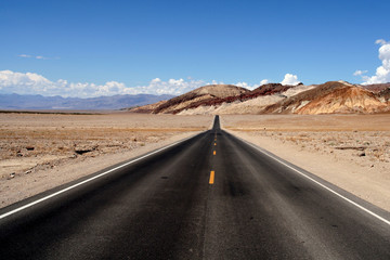 Infinite road
