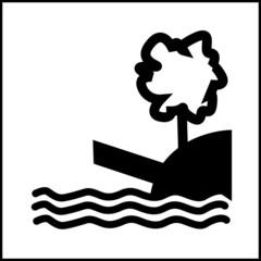 pictogramme bord de riviere