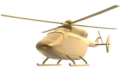 golden helicopter