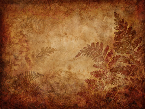 fern pattern background