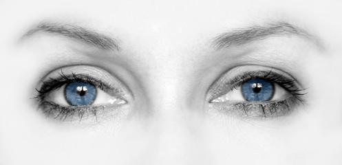 wide open blue