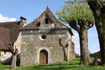 Vieille bâtisse du Quercy (France)